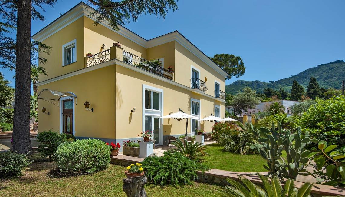 Boutique Hotel In Anacapri Italy Villa Ceselle
